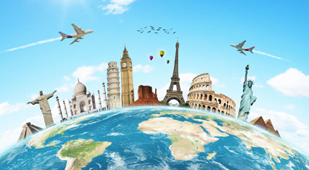 How to travel around the world?
